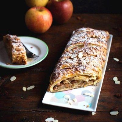 Apfelstrudel, strudel aux pommes