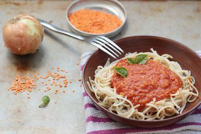 Spaghetti à la bolognaise (vegan)