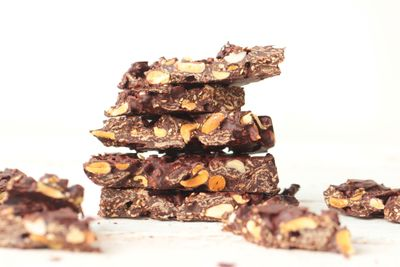 Barres au sarrasin, cacahuète et chocolat