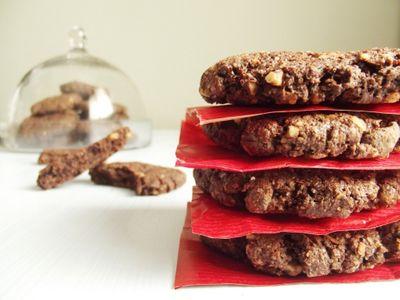 Biscuits énergétiques chocolat noisette