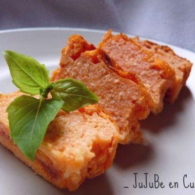 Terrines de tomate mozzarella basilic