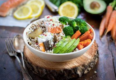 Buddha bowl au saumon