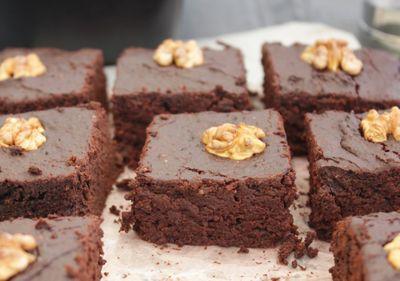 Brownie à la betterave (sans beurre ni sucre)