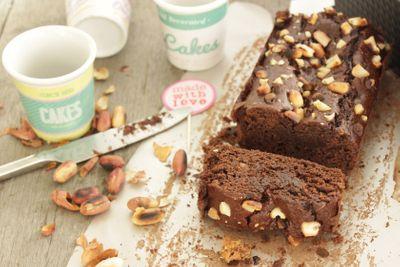 Brownie chocolat au beurre de cacahuète