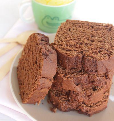 Cake chocolat courge (sans beurre)