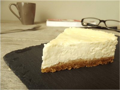 Cheesecake nature (avec cuisson)