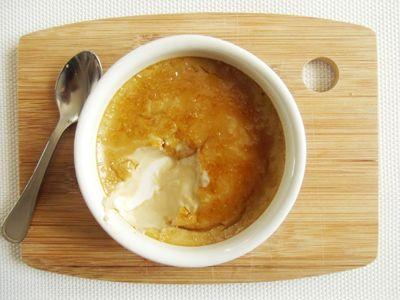 Crème brûlée au café
