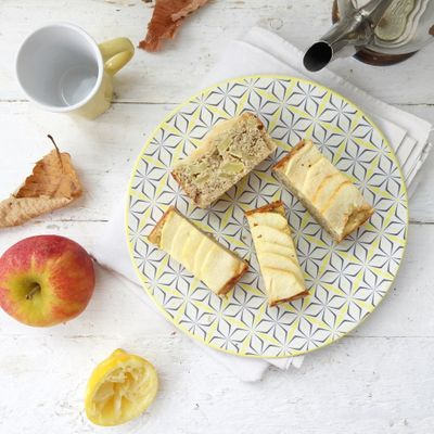 Fondant pomme & citron (sans gluten, sans sucre ni matière grasse ajoutés)