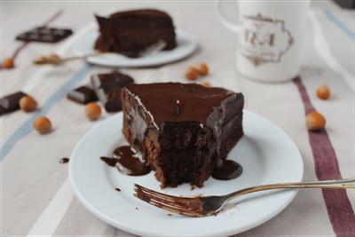 Gâteau double choc