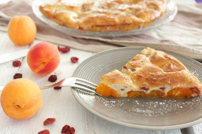 Gâteau fin à l'abricot (sans sucre et sans beurre)