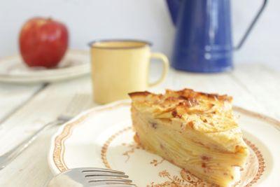 Invisible aux pommes (sans sucre ni beurre)