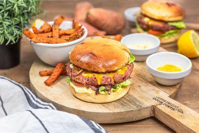Burgers végétariens et steaks de lentilles