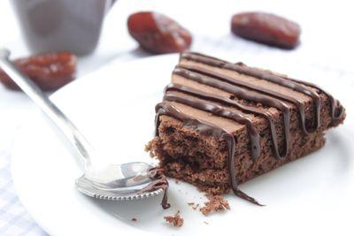 Moelleux chocolat datte à la poêle