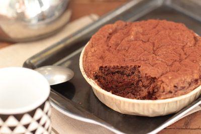 Moelleux chocolat café (sans gluten)