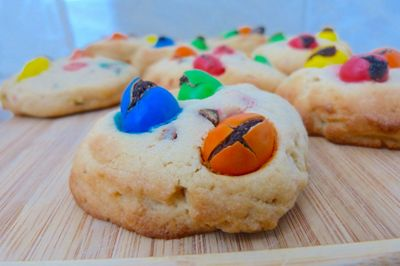 Cookies peanuts butter et M&M's