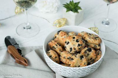 Palets aux olives