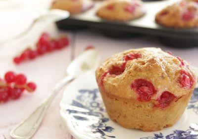 Muffin groseille citron (sans beurre)
