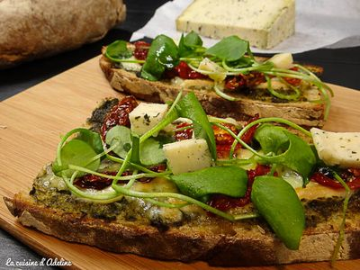 Tartines gourmandes made in Alsace