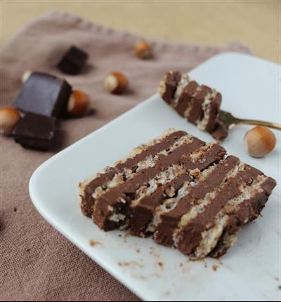 Succès noisette et chocolat