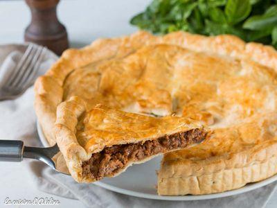 Tourte à la viande (meat pie australienne)