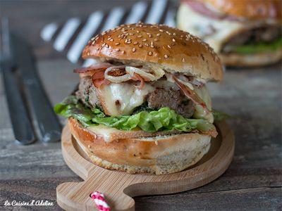Burgers montagnards à la raclette