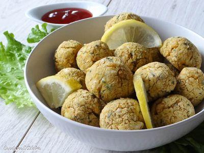 Boulettes végétariennes au citron