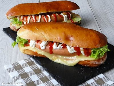 Hot Dogs alsaciens (pain maison)