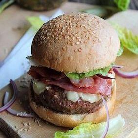 Burgers lonzo, ossau, noix