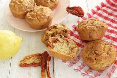 Muffins thon tomates séchées (sans beurre)