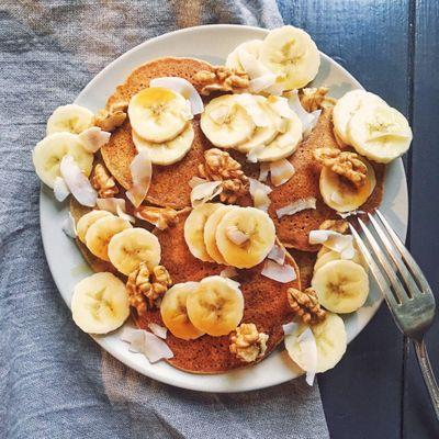 Pancakes sans céréales (vegan)