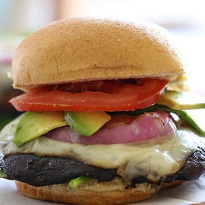 Burgers Portobello Chavignol