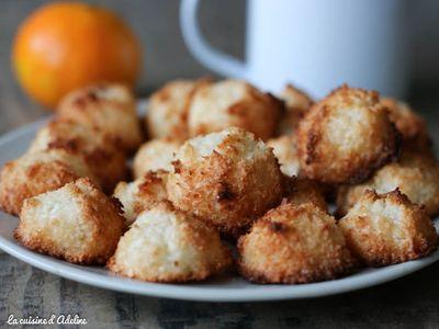 Rochers coco, kokos bredele ou congolais