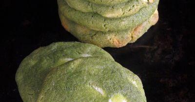 Cookies moelleux au chocolat blanc et au matcha