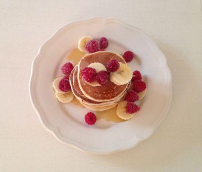 Pancakes protéinés au fromage blanc