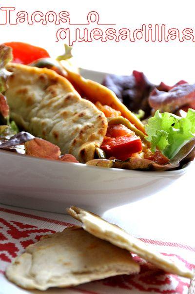 """Tacos mexicains """"fait-maison"""""""