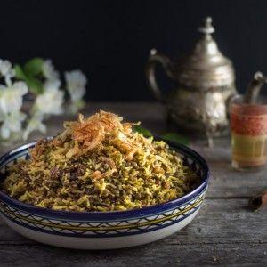 Mejadra (plat de lentilles et de riz)