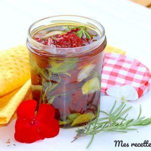 Tomate séchée aux aromates