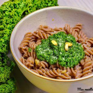 Pesto de chou kale au parmesan