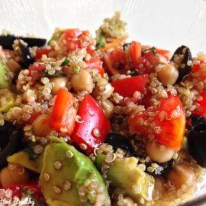 Salade veggie facile et rapide