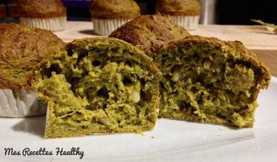 Muffin au poireau et chèvre frais