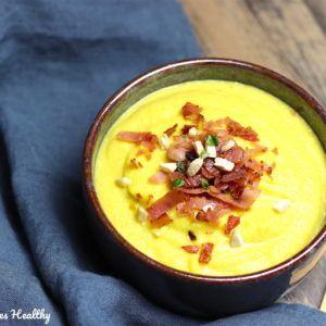 Soupe de chou-fleur et noix de cajou