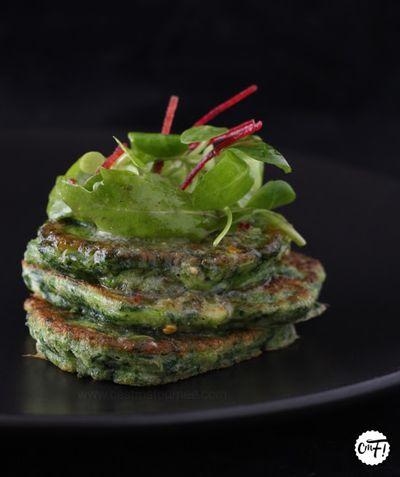 Pancakes verts au beurre de citron vert de Yotam Ottolenghi