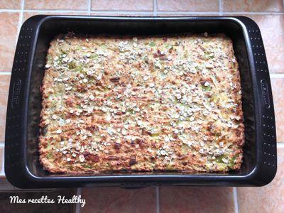 Gratin au quinoa, thon et fromage