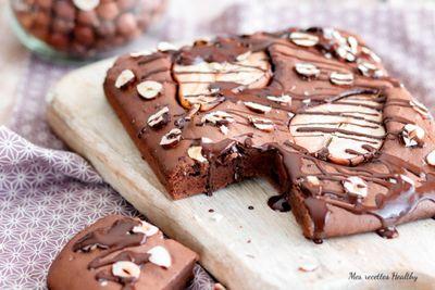 Brownie à la poire