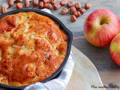 Gâteau pomme noisette (à la poêle)