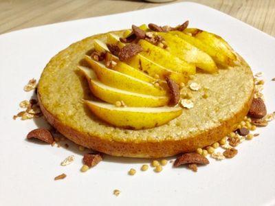Gâteau au soja vanillé (sans beurre)