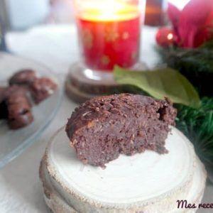 Moelleux au chocolat et noix de coco (sans beurre)
