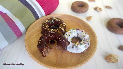 Biscuit façon donut au chocolat (sans oeuf)