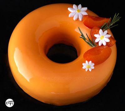 Romabriko (entremets abricot romarin)