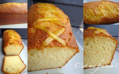 L'incontournable cake au citron de Pierre Hermé